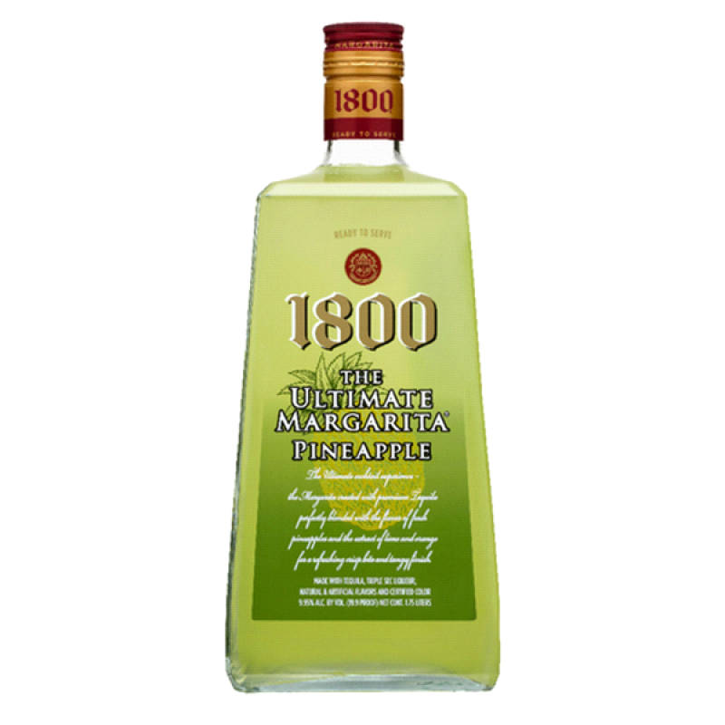 Buy 1800 Pomegranate Margarita Ready To Drink Liqueur At: 1800 Ultimate Pineapple Margarita